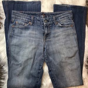 7 For All Mankind A-Pocket Bootcut Women's 26